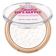 Rimmel Insta Fix and Matte Translucent Powder transparentny puder matujący