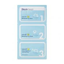 It's-skin-Blackhead-Clear-3-step-zestaw-do-oczyszczania-nosa-kosmetyki-koreańskie-puderek.com.pl