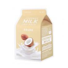 A'pieu-Coconut-Milk-One-Pack-maska-w-płacie-kosmetyki-koreańskie-puderek.com.pl
