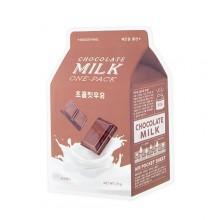 A'pieu-Chocolate-Milk-One-Pack-maska-w-płacie-kosmetyki-koreańskie-puderek.com.pl