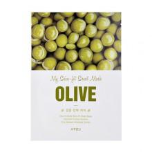 A'pieu-My-Skin-Fit-Sheet-Mask-Olive-maska-w-płacie-kosmetyki-koreańskie-puderek.com.pl