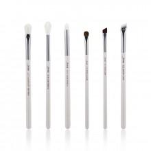 Jessup-T241-Brushes-Set-White-Silver-zestaw-6-pędzli-do-makijażu-oczu-drogeria-internetowa-puderek.com.pl