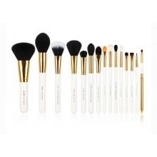 Jessup-T103-Brushes-Set-White-Gold-zestaw-15-pędzli-do-makijażu-drogeria-internetowa-pędzle-do-makijażu-puderek.com.pl