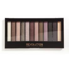 Makeup Revolution Romantic Smoked paleta 12 cieni do powiek
