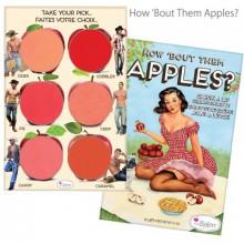 The Balm TheBalm How 'bout Them Apples paleta kremowych róży błyszczyków