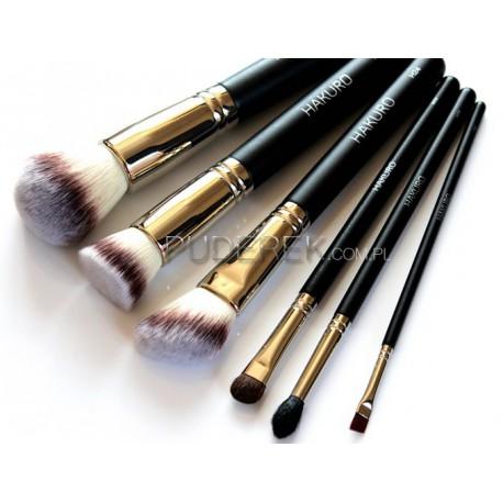 Hakuro-zestaw-6-pędzli-H55-H50S-H24-H70-H77-H85-zestaw-pędzli-do-makijażu-sklep-z-kosmetykami-online-puderek.com.pl