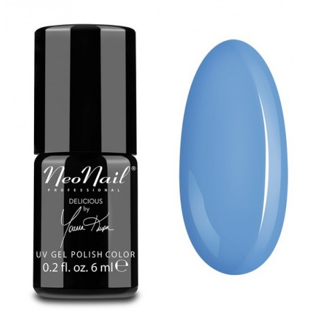 Neonail lakier hybrydowy - 5639 Blue Cream Jelly 6 ml