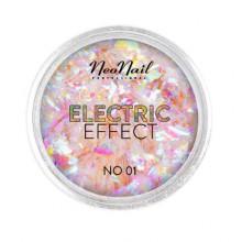 Neonail Electric Effect No. 01 - płatki folii do zdobień 0,3 g
