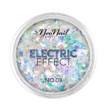 Neonail Electric Effect No. 03 - płatki folii do zdobień 0,3 g