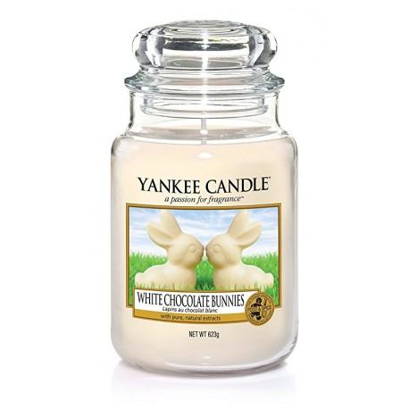 Yankee Candle White Chocolate Bunnies słoik duży świeca zapachowa
