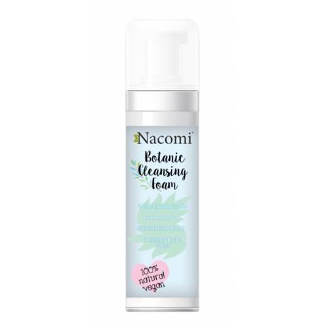 Nacomi Botanic Cleansing Foam pianka do mycia twarzy 150 ml