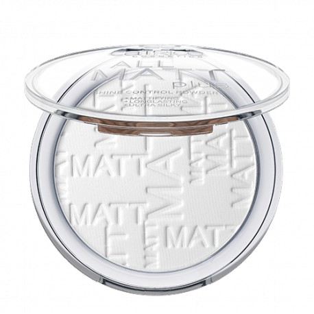 Catrice All Matt Plus transparentny puder matujący 001 Universal