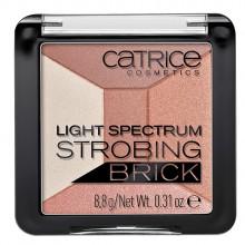 Catrice-Strobing-Brick-Light-Spectrum-010-Brown-Brillance-paleta-rozświetlaczy-drogeria-internetowa-puderek.com.pl