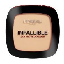 Loreal-Infallible-24H-Matte-Powder-160-Sand-Beige-długotrwały-puder-drogeria-internetowa-puderek.com.pl