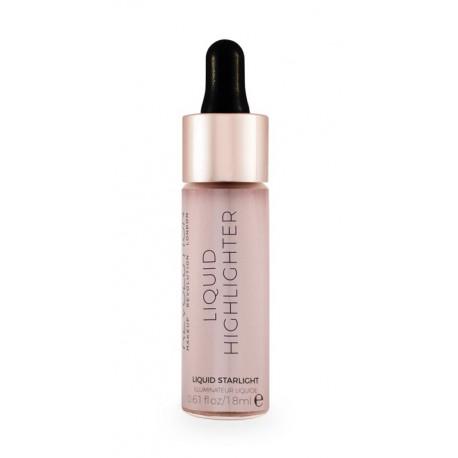 Makeup Revolution Liquid Highlighter Liquid - Starlight - płynny rozświetlacz