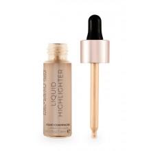 Makeup-Revolution-Liquid-Highlighter-Liquid-Champagne-płynny-rozświetlacz-drogeria-internetowa-puderek.com.pl