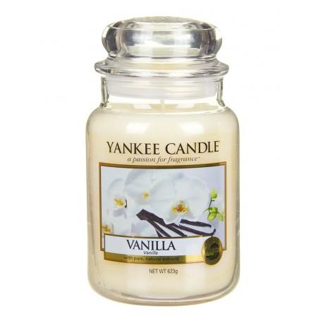 Yankee Candle Vanilla słoik duży świeca zapachowa