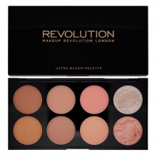 Makeup Revolution Hot Spice paleta 8 róży Ultra Blush Palette