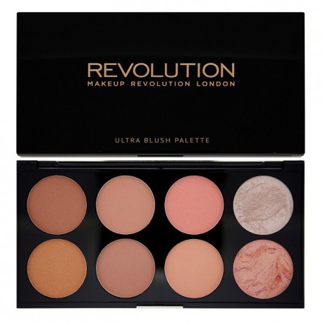 Makeup-Revolution-Hot-Spice-paleta-8-róży-Ultra-Blush-Palette-drogeria-internetowa-puderek.com.pl