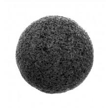 W7 Zen Spa Konjac Sponge - czarna - gąbka do mycia i złuszczania skóry