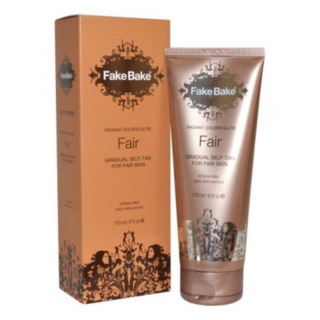 Fake Bake Radiant Golden Glow Fair Gradual Self-Tan - balsam samoopalający do jasnej karnacji 170 ml