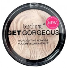 Technic-Get-Gorgeous-Highlighting-Powder-rozświetlacz-do-twarzy-drogeria-internetowa-puderek.com.pl