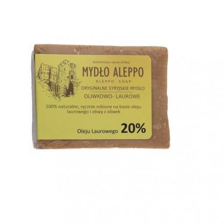 Aleppo Tradycyjne syryjskie mydło oliwkowo-laurowe 20% olejku laurowego 200 g