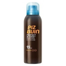 Piz-Buin-Protect-&-Cool-Mousse-SPF-15-chłodząca-pianka-ochronna-drogeria-internetowa-puderek.com.pl