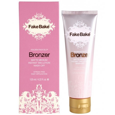 Fake Bake Golden Faux Glo Bronzer - Matte Medium - bronzer do twarzy i ciała 125 ml