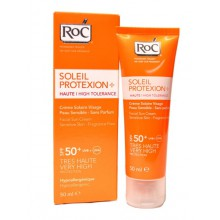 RoC-Soleil-Protexion-High-Tolerance-Sun-Cream-SPF-50+-fluid-ochronny-do-twarzy-drogeria-internetowa-puderek.com.pl