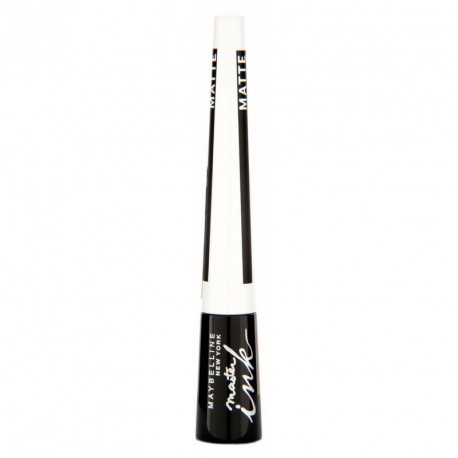Maybelline Master Ink Satin Eyeliner w płynie 10 Charcoal Black