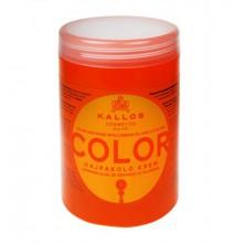 Kallos Color maska do włosów farbowanych i łamiących się 1000 ml