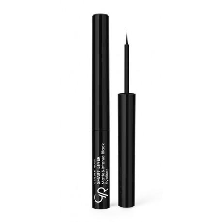 Golden Rose Smart Liner Matte & Intense Black Eyeliner - płynny eyeliner
