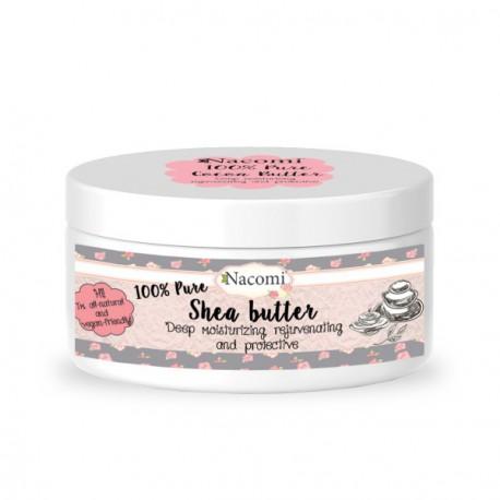 Nacomi masło Shea 100% naturalne 100 ml