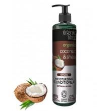 Organic-Shop-Organiczny-Kokos-i-masło-Shea-balsam-do-włosów-280-ml-drogeria-internetowa-puderek.com.pl
