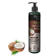 Organic-Shop-Organiczny-Kokos-i-masło-Shea-szampon-do-włosów-280-ml-drogeria-internetowa-puderek.com.pl