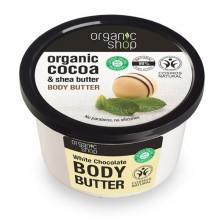 Organic-Shop-Body-Butter-Biała-Czekolada-masło-do-ciała-250-ml-drogeria-internetowa-puderek.com.pl