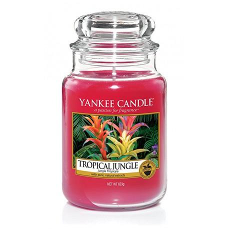 Yankee Candle Tropical Jungle słoik duży świeca zapachowa