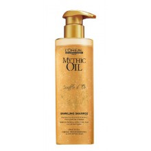 Loreal Mythic Oil Souffle d'Or odżywczy szampon z drobinkami 250 ml