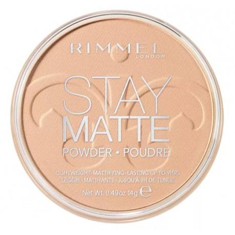 Rimmel Stay Matte Pressed Powder 004 Sandstorm długotrwały puder matujący