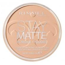 Rimmel-Stay-Matte-Pressed-Powder-005-Silky-Beige-długotrwały-puder-matujący-drogeria-internetowa