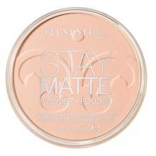 Rimmel-Stay-Matte-Pressed-Powder-003-Peach-Glow-długotrwały-puder-matujący-drogeria-internetowa