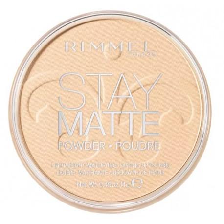 Rimmel-Stay-Matte-Pressed-Powder-001-Transparent-długotrwały-puder-matujący-drogeria-internetowa