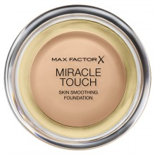 Max Factor Miracle Touch Skin Smoothin Foundation - 45 Warm Almond Podkład w kompakcie