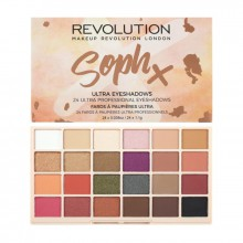 Makeup Revolution Soph X Ultra Eyeshadow Palette - paleta 24 cieni do powiek