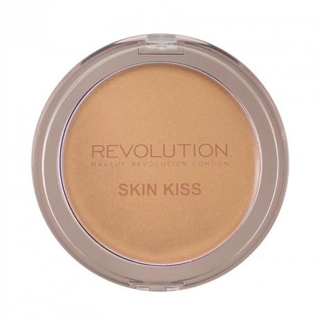 Makeup Revolution Skin Kiss Cream Bronze Glow - Bronze Kiss - kremowy rozświetlacz brązujący