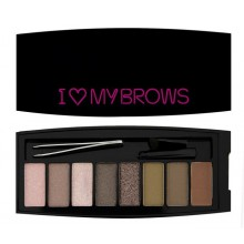 Makeup-Revolution-I-Love-My-Brows-paleta-cieni-drogeria-internetowa-puderek.com.pl