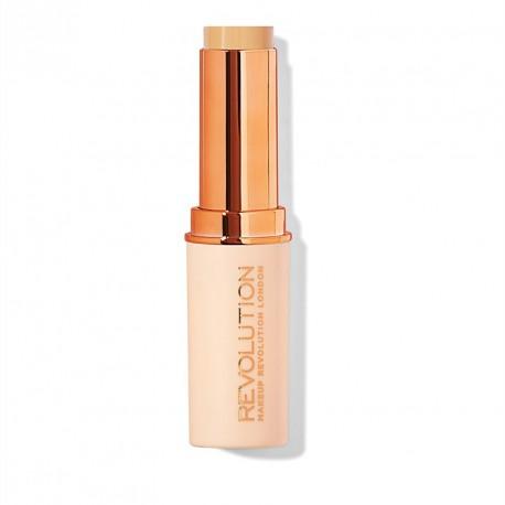 Makeup Revolution Fast Base Stick Foundation - F6 - kryjący podkład w sztyfcie