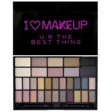 Makeup Revolution U R The Best Thing paleta 32 cieni do powiek