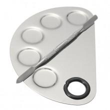 Metalowa-paleta-do-mieszania-lakierów-akrylu-żelu-kosmetyków-radełko-drogeria-internetowa